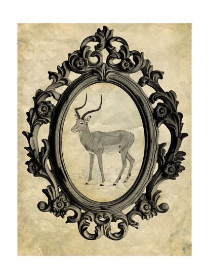 Framed Gazelle-THE Studio-Premium Giclee Print