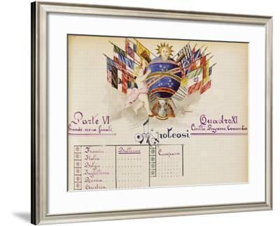 Framework XI--Framed Giclee Print