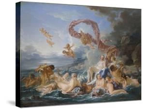 Triumph of Venus by Fran?ois Boucher