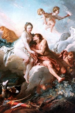 Venus and Mars, C1725-1770 by Fran?ois Boucher