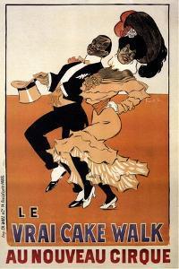 Le Vrai Cake Walk Au Nouveau Cirque, C.1901-1902 by Fran?ois Laskowski