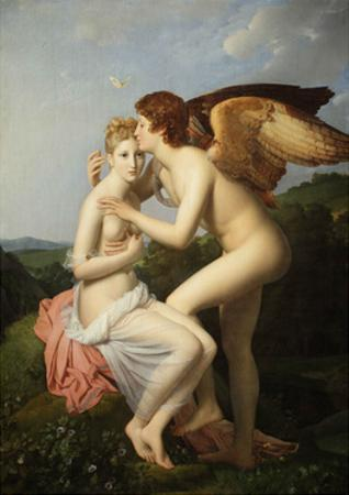 Cupid and Psyche by Fran?ois Pascal Simon G?rard