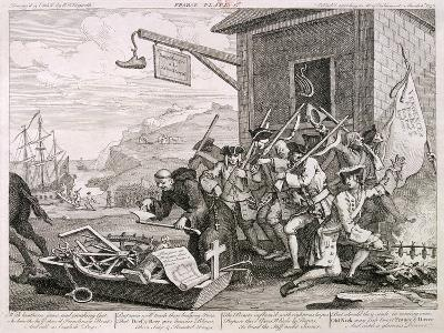 France, 1755-William Hogarth-Giclee Print