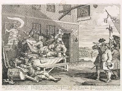 France, 1756-William Hogarth-Giclee Print