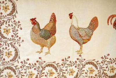 France, Aix-En-Provence. Textiles, Cours Mirabeau Market-Kevin Oke-Photographic Print