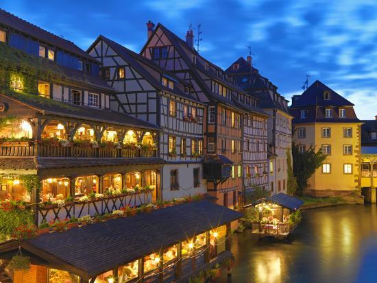 France, Alsace, Strasbourg, La-Petite-France-Shaun Egan-Photographic Print