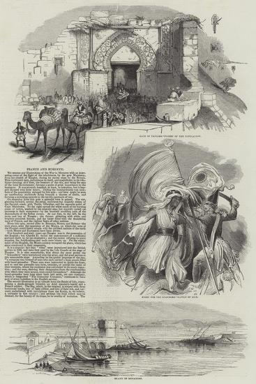 France and Morocco--Giclee Print