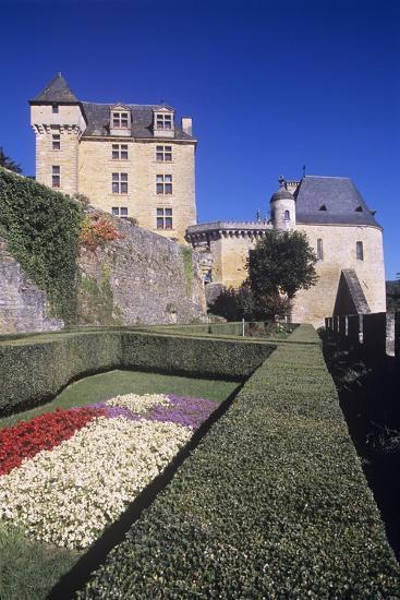 France, Aquitaine, Castelnaud-La-Chapelle, Fayrac Castle, 13th Century--Giclee Print