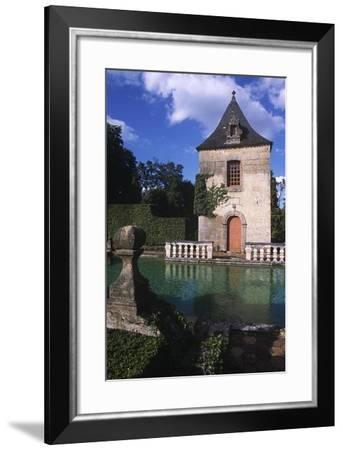France, Aquitaine, Eyrignac Manor Gardens--Framed Giclee Print