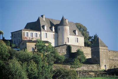France, Aquitaine, Vezac, Marqueyssac Castle--Giclee Print