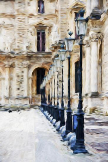 France Architecture II - In the Style of Oil Painting-Philippe Hugonnard-Giclee Print
