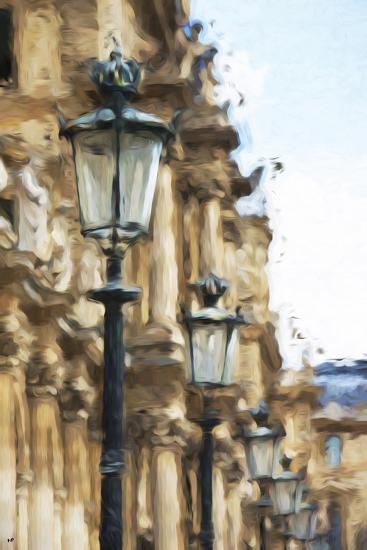 France Architecture - In the Style of Oil Painting-Philippe Hugonnard-Giclee Print