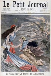 France Assists Martinique, 1902
