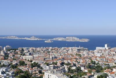 France, Bouches Du Rhone, Marseille. the View of Marseille-Kevin Oke-Photographic Print