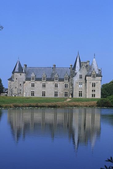 France, Brittany, Chateau De La Motte Beaumanoir--Giclee Print