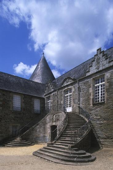 France, Brittany, Morbihan, Pontivy Rohan Castle--Giclee Print