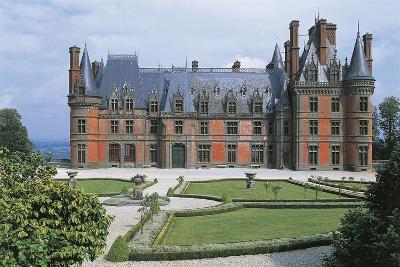 France, Brittany, Trevarez, Renaissance Castle--Giclee Print