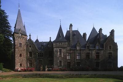 France, Brittany, Val-D'Izé, Ille-Et-Vilaine, Bois Cornillé Castle--Giclee Print