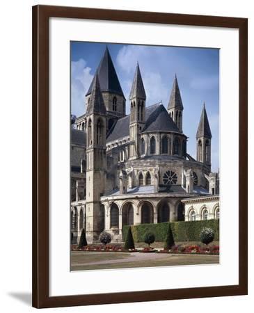 France, Caen, Men's Abbey, Saint-Etienne Church--Framed Giclee Print