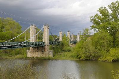 France, Centre, Chatillon Sur Loire. Pont De Chatillon Sur Loire-Kevin Oke-Photographic Print