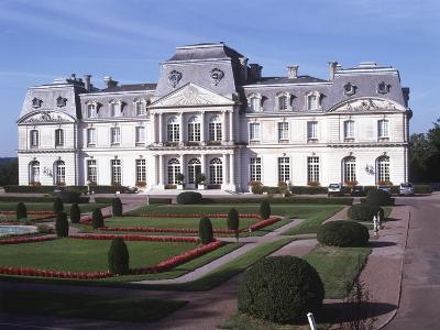 France, Centre, Indre-Et-Loire, Artigny Castle--Giclee Print