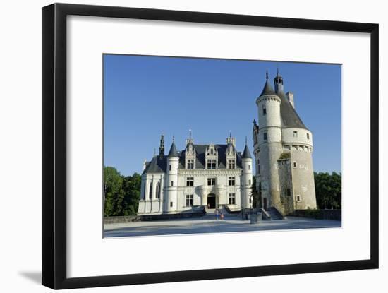 France, Centre, Indre-Et-Loire, Chateau De Chenonceau.-Amar Grover-Framed Photographic Print
