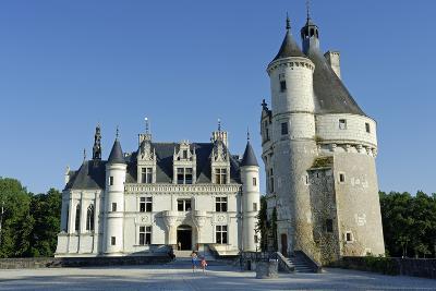 France, Centre, Indre-Et-Loire, Chateau De Chenonceau.-Amar Grover-Photographic Print