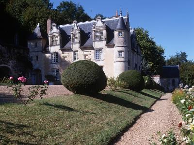 France, Centre, Indre-Et-Loire, Reugny, Chateau De La Côte--Giclee Print