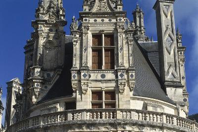 France, Centre Region, Loir-Et-Cher Department, Chambord, Chambord Castle, Detail--Giclee Print