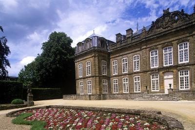 France, Champagne-Ardenne, Bazeilles Castle--Giclee Print