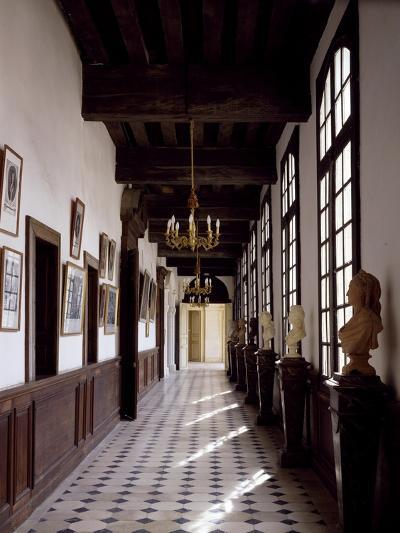 France, Chateau De Saint-Fargeau, Portrait Gallery--Giclee Print