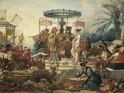 France, Chinoiseries, the Chinese Wedding--Giclee Print