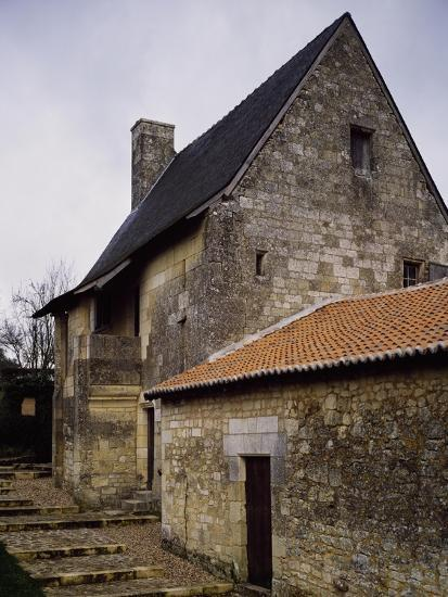 France, Chinon, Deviniere, Birthplace of Francois Rabelais--Giclee Print