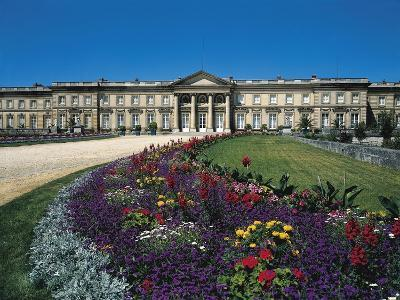 France, Compiegne, Castle and Garden View--Giclee Print