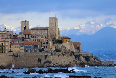 France, Cote D'Azur, Antibes, Coast-Chris Seba-Photographic Print