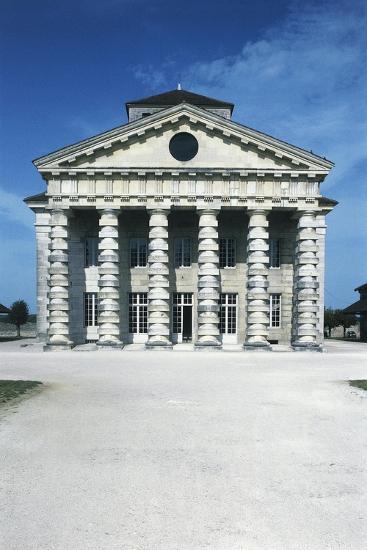 France, Franche-Comte, Arc-Et-Senans, Directors Pavilion at Royal Saltworks--Giclee Print