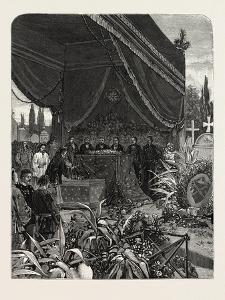 France: Funeral of the Japanese Minister, at Paris, 1880 1881