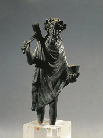 France, Glanum, Statuette Representing the God Silvanus, Bronze--Mounted Giclee Print