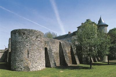 France, Ile-De-France, Nangis Castle--Giclee Print