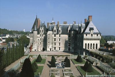 France, Indre-Et-Loire, Langeais Castle Exterior--Giclee Print