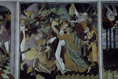 France, La Brigue, Notre-Dame Des Fontaines Chapel, Betrayal of Jesus Christ, 1491-Giovanni Cerruti-Giclee Print