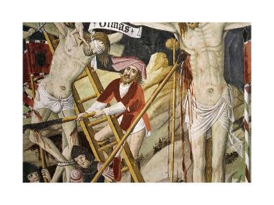 France, La Brigue, Notre-Dame Des Fontaines Chapel, Detail from Death of Jesus, 1491-Giovanni Canavesio-Giclee Print