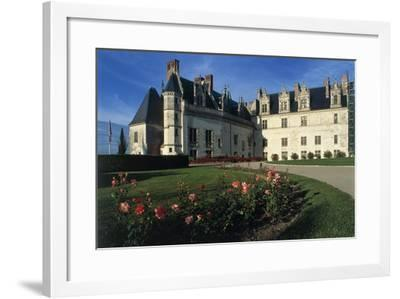 France, Loire Valley, Chateau D'Amboise, 13th Century--Framed Photographic Print