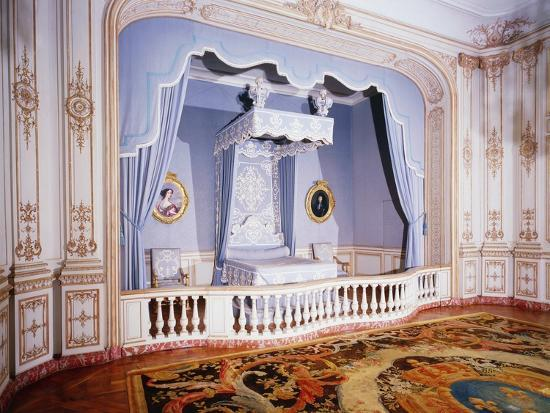 France, Loire Valley, Louis Xiv's Official Bedchamber in Chateau De Chambord--Photographic Print