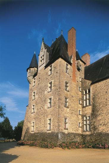 France, Loire Valley, Maine-Et-Loire, Bauge, Castle--Giclee Print