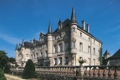 France, Lorraine, Dieu-Sur-Meuse, Monthairons Castle--Giclee Print
