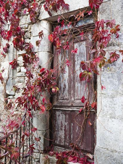 France, Midi-Pyrenees Region, Aveyron Department, La Couvertoirade-Walter Bibikow-Photographic Print
