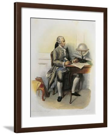 France of Jean-Baptiste Le Rond Called D'Alembert, Philosopher and Compiler of the Encyclopedie--Framed Giclee Print