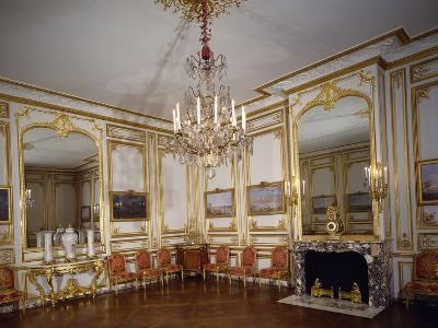 France, Palace of Versailles, Games Salon, Louis XVI's Small Apartments, Palace of Versailles--Photographic Print