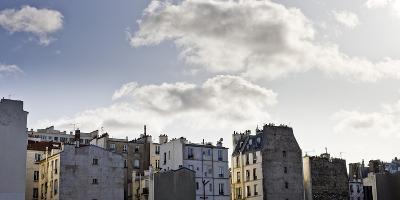 France, Paris, Skyline, 19th Area-Dietmar Walser-Photographic Print